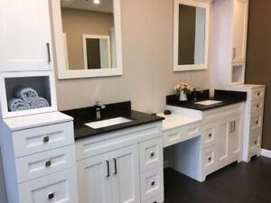 Free bathroom Design!! Vanities are on SALE!!