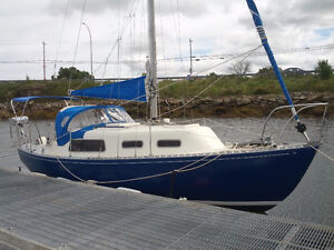 26ft. Grampion Sailboat with trailer