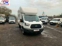 2017/17 Ford Transit 350 14FT Luton With Tail Lift RWD