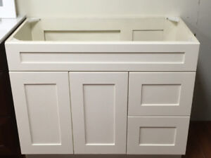 Surprising!! over 50+ demo vanity cabinets CLEARANCE !!!