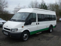 .2004.04. .Ford TRANSIT 350 LWB 13 SEAT MINI BUS