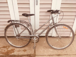 Beautiful cruiser with winter studded tire