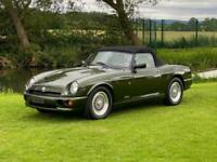 MG RV8 4.0 CONVERTIBLE WOODCOTE GREEN * TOP GRADE * 31000 MILES WITH 12 SERVICE