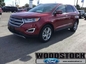 2017 Ford Edge Titanium  SEL, FACTORY DEMO - FINANCING FROM 2.99