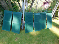 Decorative Plastic Shutters