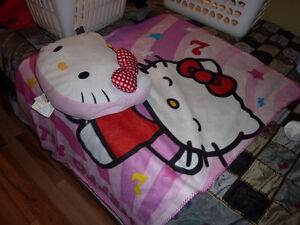 For Sale - Hello Kitty Blanket/Pillow Combination