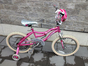 Girls Supercycle Bike Like Excellent Condition - 18""