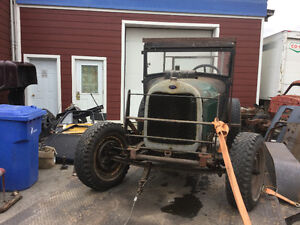1928 Ford running motor and transmission swap or trade