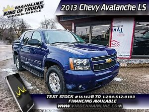 2013 Chevrolet Avalanche LS   - $257.18 B/W
