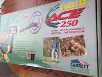 Garrett Ace 250 metal detector New In Box