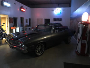 **SOLD**1968 Chevrolet Chevelle SS 396 4spd Convertible