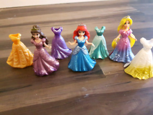Disney princess magiclips & van