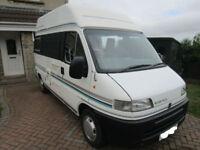 Bessacarr E370 Two Berth Camper Van for Sale Ref 13686
