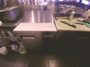 Sushi restaurant equipments for sale.