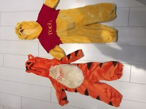 Winnie the pooh and tigger costumes