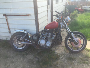 Part for a KZ 650