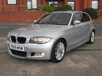 2009 BMW 118D 120D 116D 2.0TD M SPORT, 5 DOOR TURBO DIESEL. £30 TAX