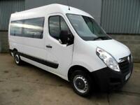 2012 Vauxhall Movano 2.3 CDTI H2 Window Van, Ideal Camper NO VAT PANEL VAN Diese