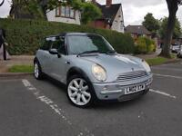 MINI COOPER 1.6 HATCH PETROL CHILLI PACK ONE 1.6D PANROOF **MUST VIEW**