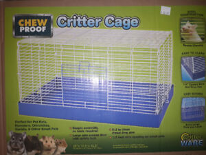 Critter cage w/ accessories