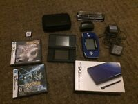 DS lite for sale or trade with a bunch of extras!