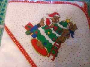 CHRISTMAS HOODED BSTH TOWEL Regina Regina Area image 1