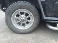4 mags fast 20 pouces +pneus mickey thompson