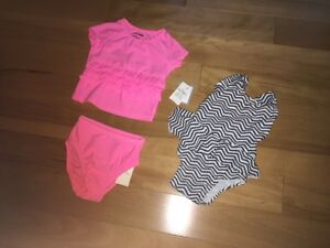 Baby Gap & Old Navy Baby Girl Bathing Suits Swim