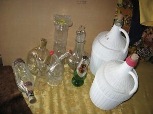 OLD BOTTLES AND JUGS $5 FOR ALL