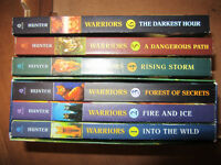 Warriors Series of 6 books purchase all 6 for $20 (Tween books)