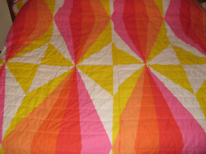 Housse de couette de lit queen (mesure 98'' par 104'')