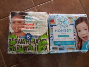 Size 6 Honest Co Diapers