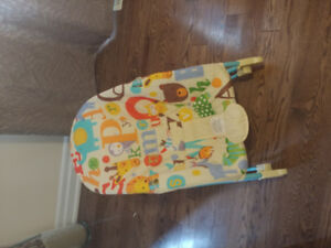 Fisher Price Deluxe Infant to Toddler Rocker Bouncer Chair