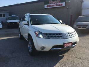 2007 NISSAN MURANO SE AWD LEATHER SUNROOF SAFETY&E-TEST