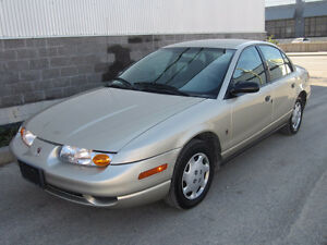 2001 SATURN SL1 4 DOOR SEDAN LOADED AUTO AIR WARRANTY 158k