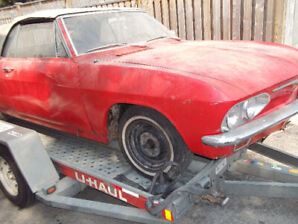 1966 Corvair Convertible Restoration Project