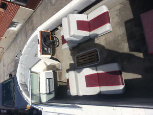 16.6 foot bowrider with trailer