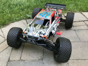 Trade RC Nitro 4X4 Truggy for Laptop