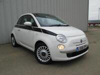 FIAT 500 DUALOGIC SPORT LOUNGE 1.2 PETROL AUTOMATIC 15,000 MILES FULLY LOADED