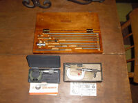 3 x Micrometer s Starrett and Mitutoyo inside and out Machinist