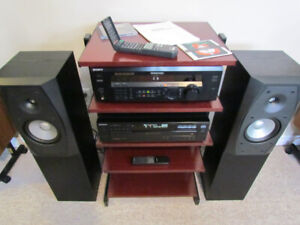 Sony Stereo System, Receiver, Speakers, CD Player