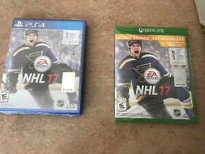 Nhl17 ps4 brand new sealed
