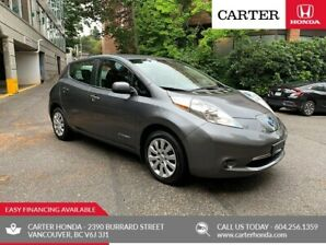 2017 Nissan Leaf S + SUMMER SALE + QUICK CHARGER!
