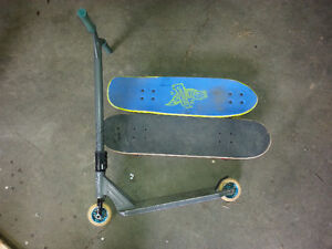 Skate board & Scooter package