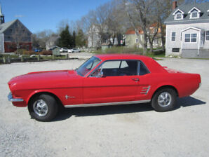 66 RED MUSTANG      $$$ 13,000  NEW PRICE