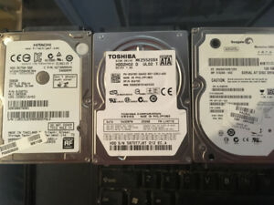 lot de2 disque dur portable  500GB  120GB