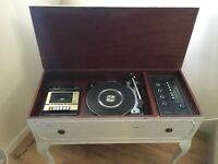 Retro Vintage Radiogram, Record Player Tape Deck - Fully Working - Can Deliver
