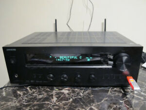 Onkyo TX-8140 2 Channel Network Stereo Receiver, Black $200