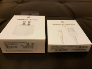 Apple iPhone / iPod charger Set 5 5S 5C 6 6+ 6S 7 7+ 8 8+ X