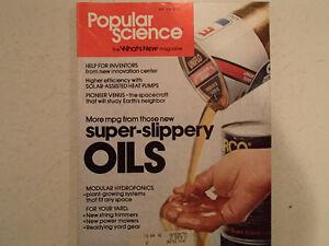 Vintage Popular Science Magazine May 1978 GC